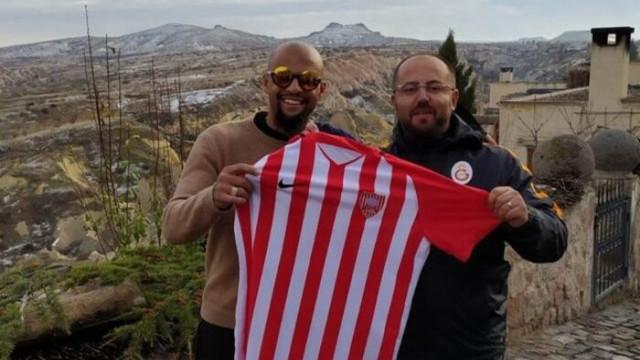 Galatasaray'ın eski futbolcusu Felipe Melo, Kapadokya'da