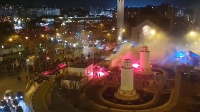 Fransa'da Galatasaray taraftarına şok saldırı !
