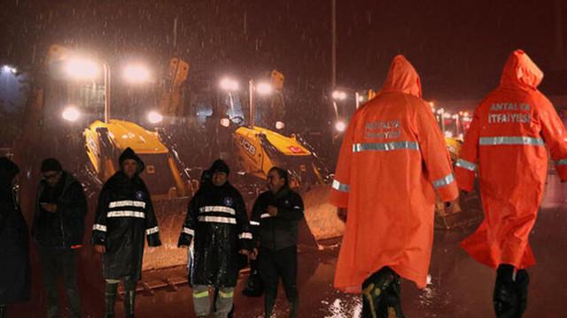 Antalya'da kırmızı kod uyarısının ardından son durum