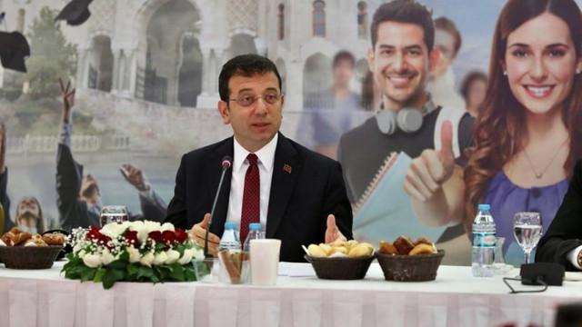 İmamoğlu 55 üniversitenin rektörüyle buluştu