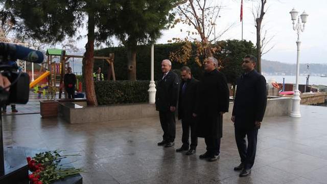 Haydar Aliyev Sarıyer'de anıldı