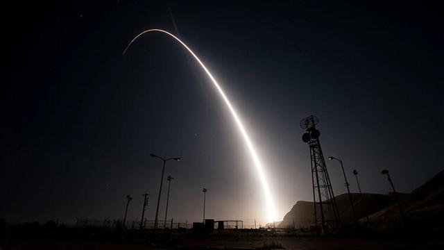 ABD'den balistik füze denemesi