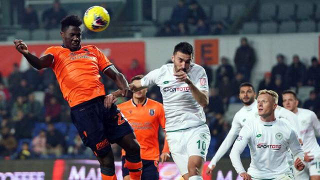 ÖZET   Başakşehir - Konyaspor maç sonucu: 1-1