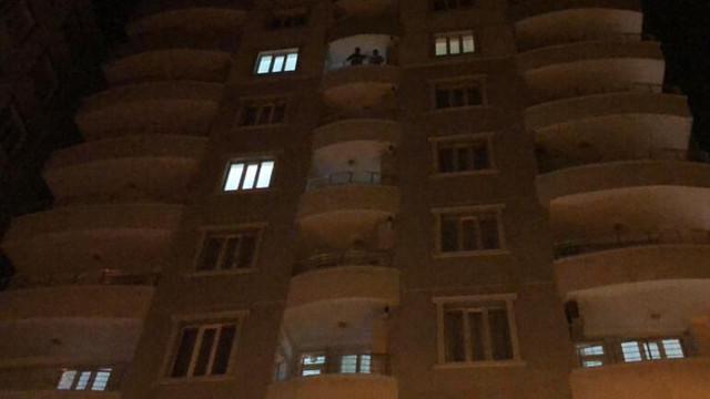 9. kattan düşen genç kız öldü
