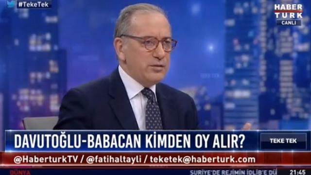 Fatih Altaylı canlı yayında Sabah gazetesinin tirajını açıkladı