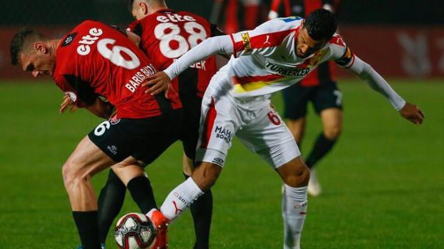Göztepe- Fatih Karagümrük maç sonucu: 2-1 (Ziraat Türkiye Kupası)