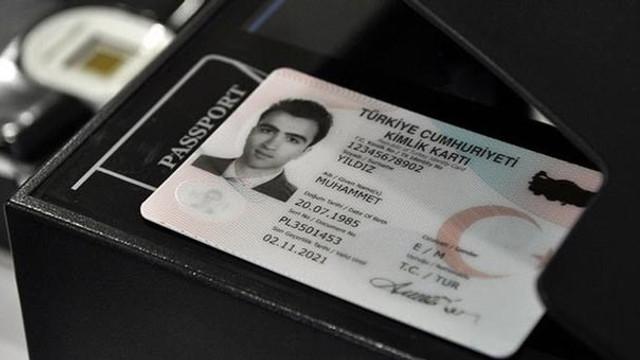 Yeni kimlik kartı alan kişi sayısı belli oldu