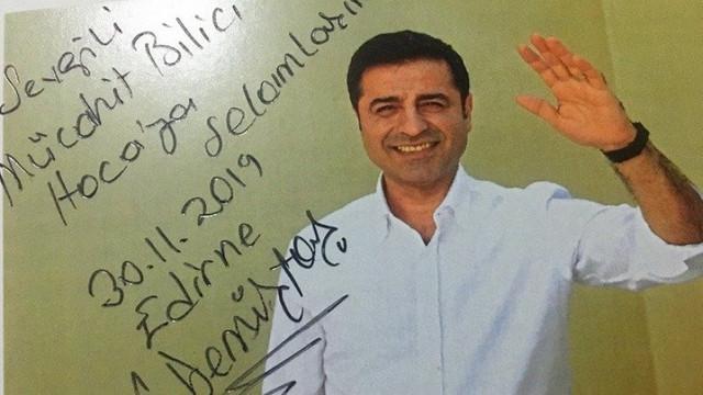 Demirtaş'tan Bilici'ye: ''Keyifle takip ediyorum''