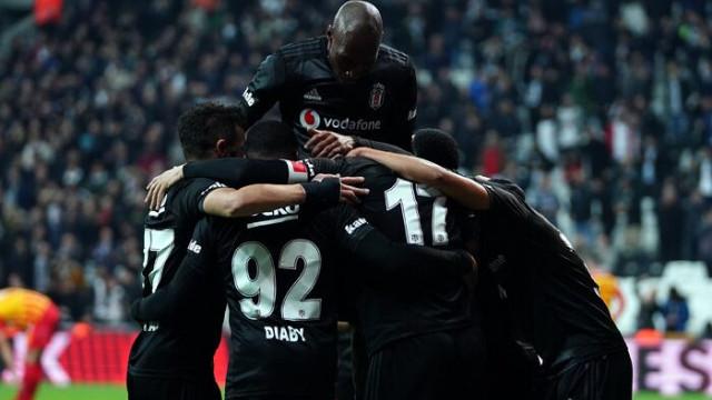 ÖZET | Beşiktaş 4-1 Kayserispor maç sonucu
