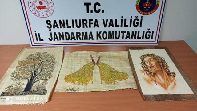 Şanlıurfa'da tarihi eser kaçakçılığına gözaltı
