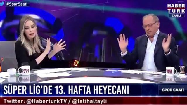 Fatih Altaylı canlı yayını terk etti!