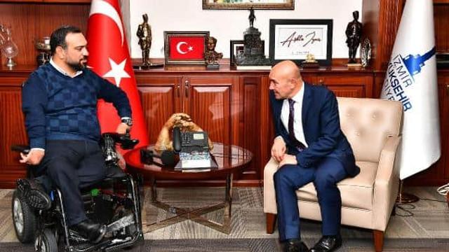 Tunç Soyer'e engelli meclis üyesi vekalet etti