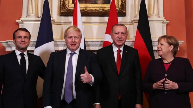 Londra'da kritik dörtlü zirve sona erdi !