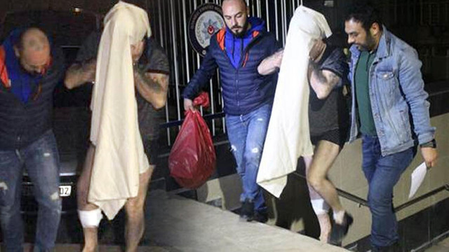 Bartholomeos'un evine giren 5 kişi tutuklandı