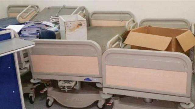 Bir şehir hastanesi zararı daha: Bir hastane çürüyor !