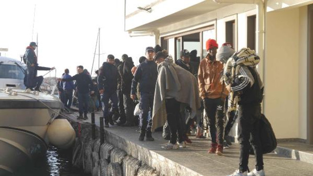247 sığınmacı daha yakalandı