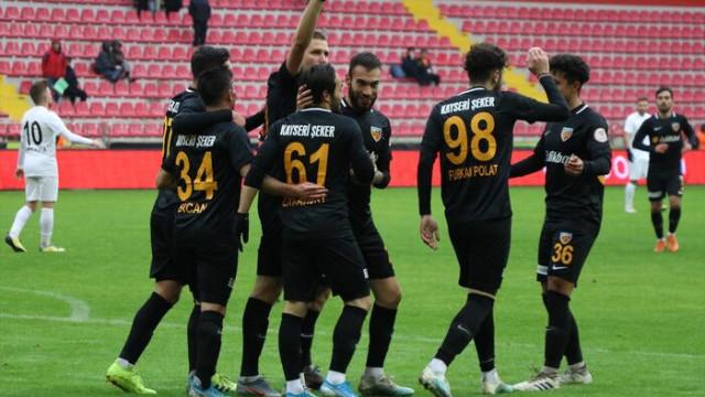 Kayserispor-Manisa maç sonucu: 3-2