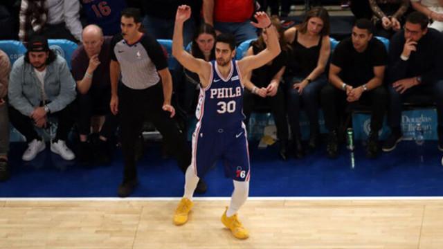 NBA'de Furkan Korkmazlı 76ers Wizards'a kaybetti
