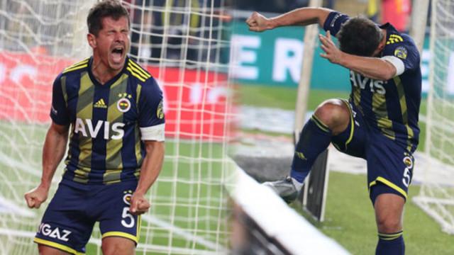 Fenerbahçe - Gençlerbirliği maçına damga vurdu! Emre Belözoğlu golü kaçırdı, panoyu tekmeledi