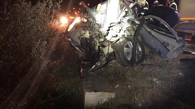Astsubay trafik kazasında hayatını kaybetti