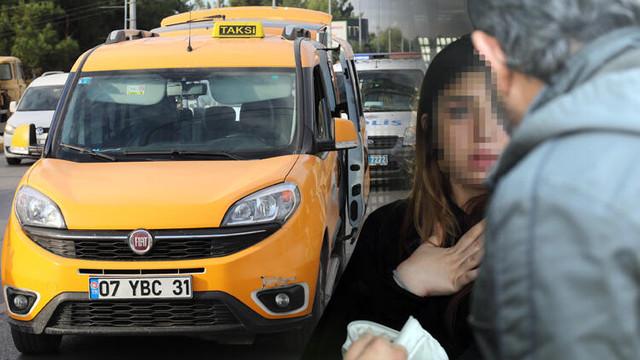 Polis durmayan taksiyi 10 kilometre kovaladı