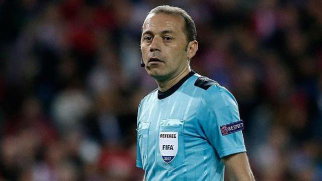Cüneyt Çakır, Napoli-Genk maçını yönetecek