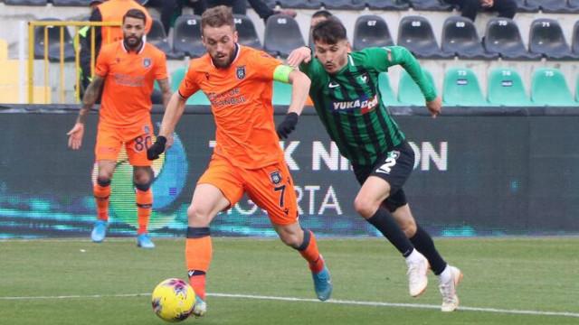 ÖZET | Denizlispor - Başakşehir 1-1 maç sonucu