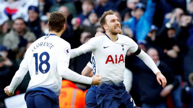 Tottenham 3 - 1 Leicester City (Premier Lig)