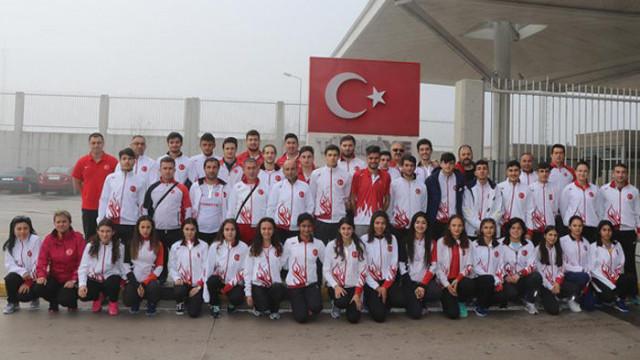 Milli atletler 17 madalya elde etti