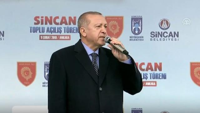 Cumhurbaşkanı Erdoğan: ''Fiyatlar yarıya indi...''