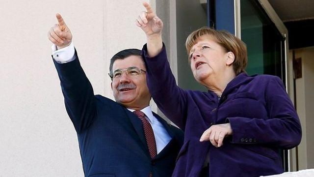 Merkel ve Davutoğlu için çarpıcı iddia !