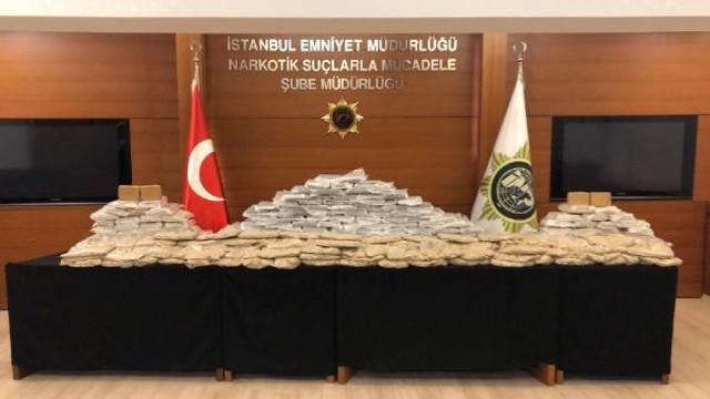 İstanbul'da 280 kilo eroin ele geçirildi