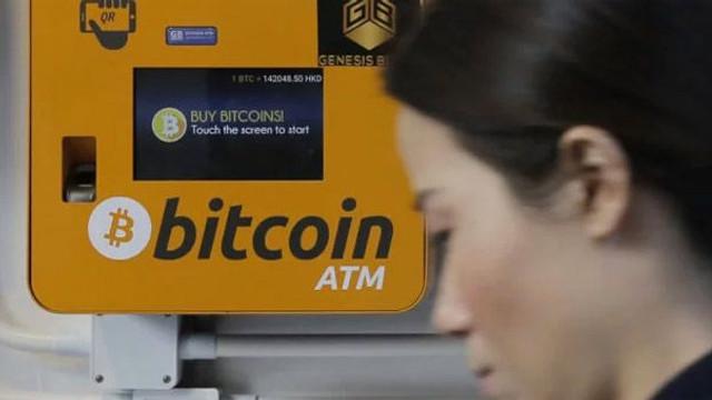 Dünyanın ilk Bitcoin ATM'si hizmete açıldı