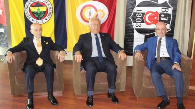 Divan kurulu başkanları buluştu