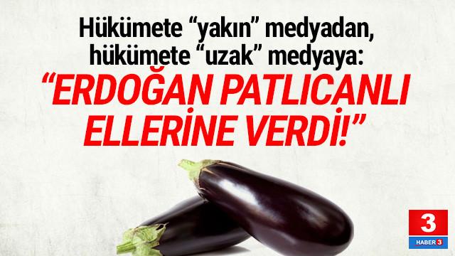 Akit TV sunucusu: ''Erdoğan patlıcanı onların eline verdi''