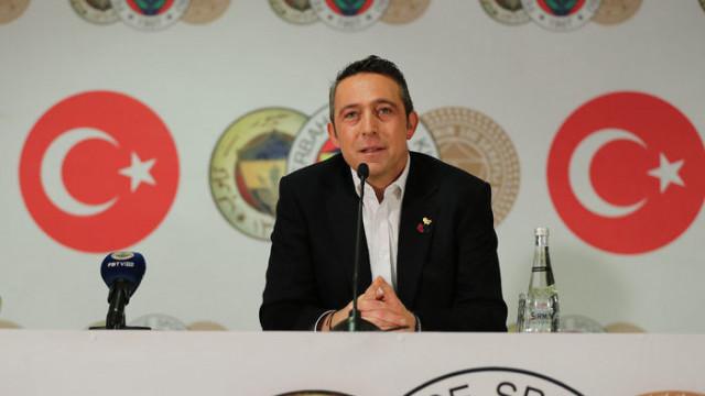 Fenerbahçe Başkanı Ali Koç hakem hatalarına ilişkin basın toplantısı düzenliyor!