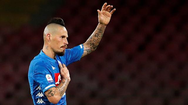 Marek Hamsik Dalian Yifang'a transfer oldu