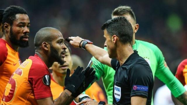 Marcao ve Muslera'dan penaltı isyanı