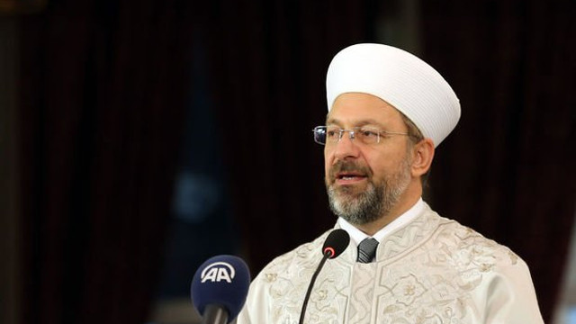 Diyanet İşleri Başkanı Erbaş: ''Kadından imam olmaz''