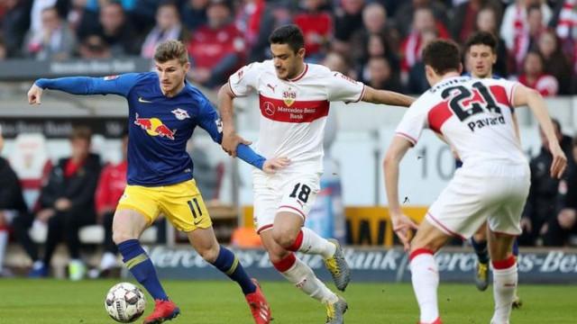 Stuttgart 1 - 3 RB Leipzig (Bundesliga)