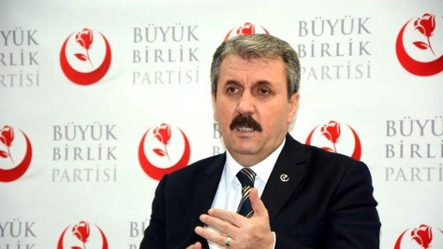 BBP'den Cumhur İttifakı'na destek kararı
