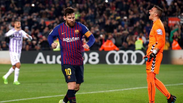Barcelona 1 - 0 Valladolid (La Liga)