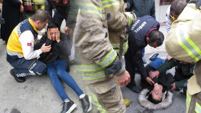İstanbul'da eski koca dehşeti ! Eşinin evini ateşe verdi
