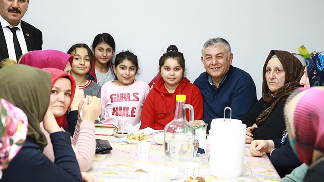 Başkan Genç, FSM Mahallesi'ni ziyaret etti