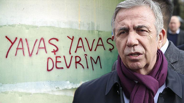 Mansur Yavaş'tan o duvar yazısına sert tepki !