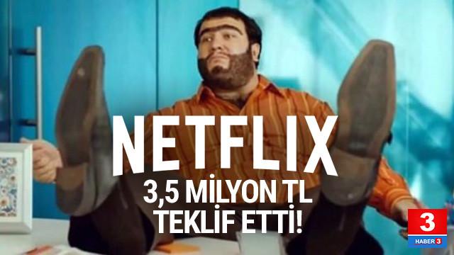 Netflix'ten Recep İvedik'e 3,5 milyonluk teklif