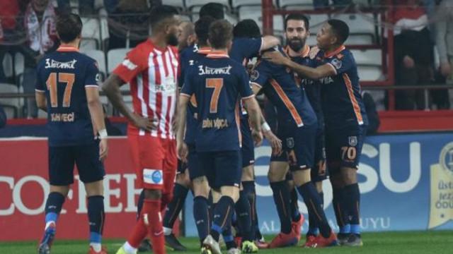 Antalyaspor 0 - 1 Medipol Başakşehir