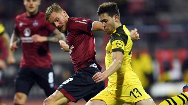 Borussia Dortmund deplasmanda golsüz berabere kaldı