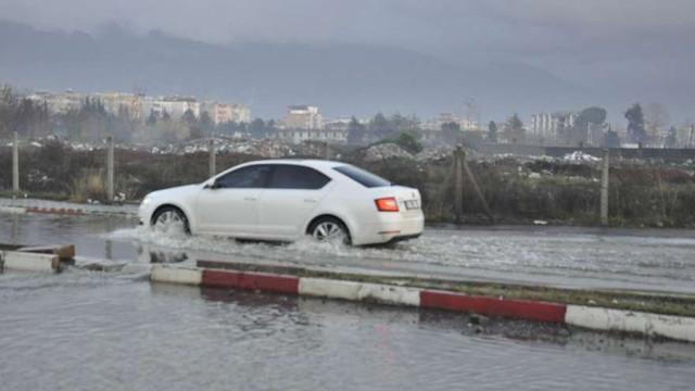 Venedik değil, Türkiye! Yağmur fena vurdu