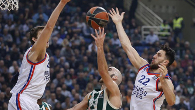 Anadolu Efes Panathinaikos'a deplasmanda mağlup oldu